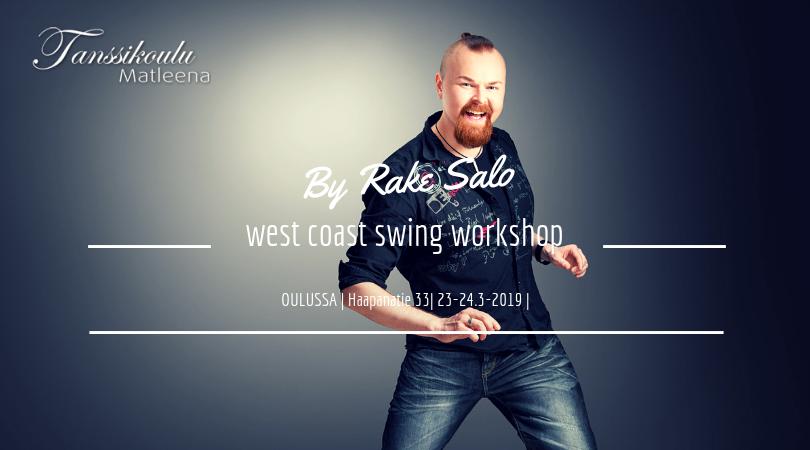 West coast swing workshop Oulussa 23-24.3.2019!