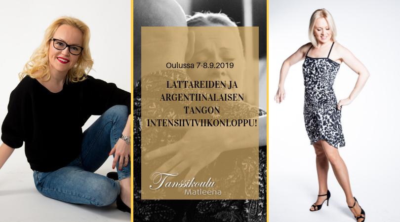 Lattareiden ja Argentiinalaisen tangon intensiivikurssi Oulussa!