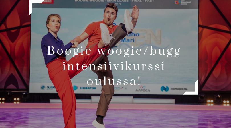 Boogie woogie/bugg intensiivikurssi Oulussa 12-13.10-2019!
