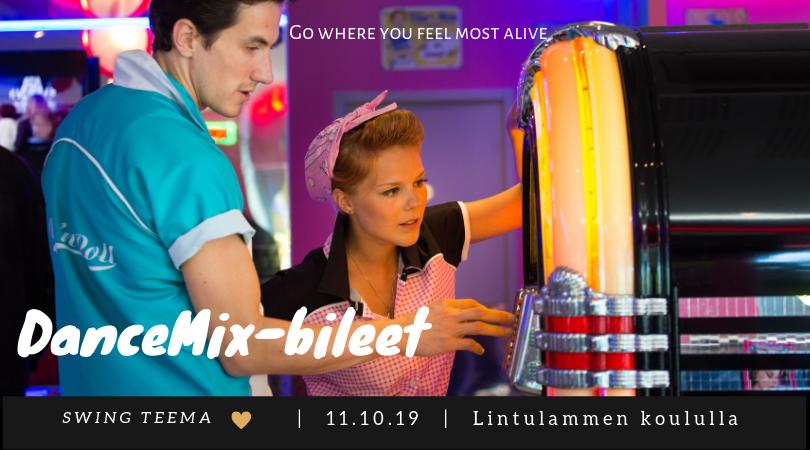 DanceMix-bileet 11.10-2019!